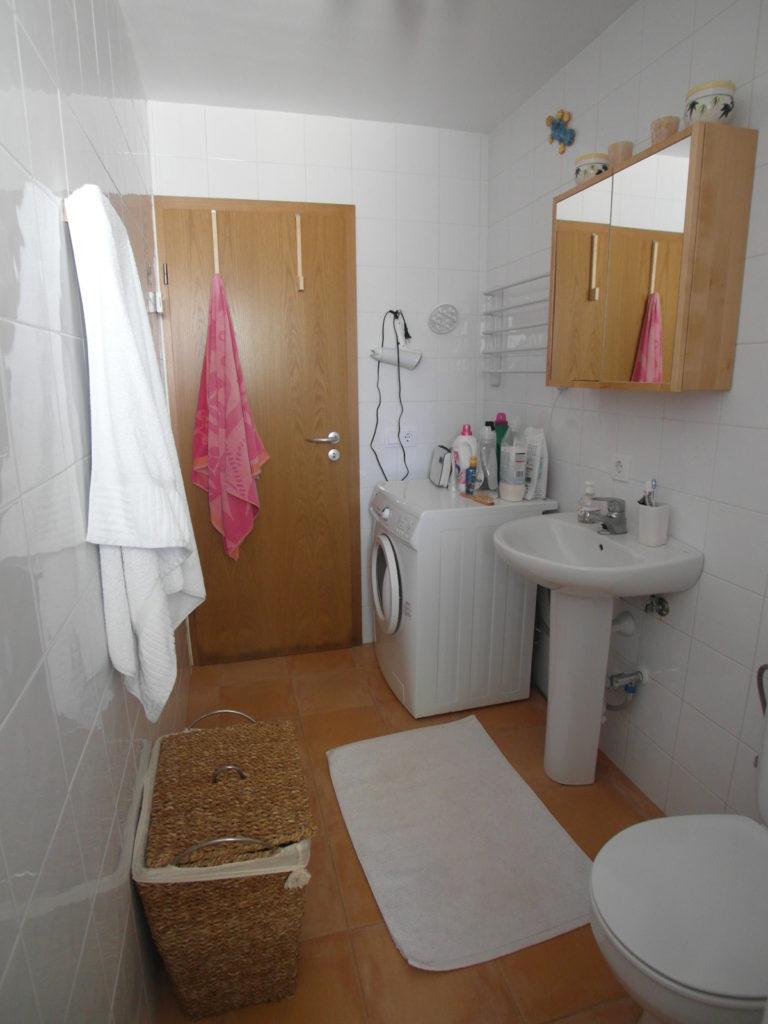 Badezimmer vor Homestaging