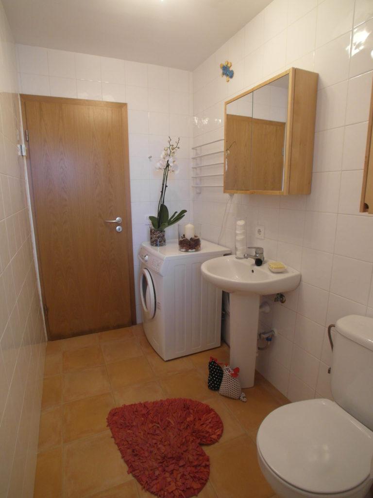 Homestaging in Ferienwohnung: Badezimmer